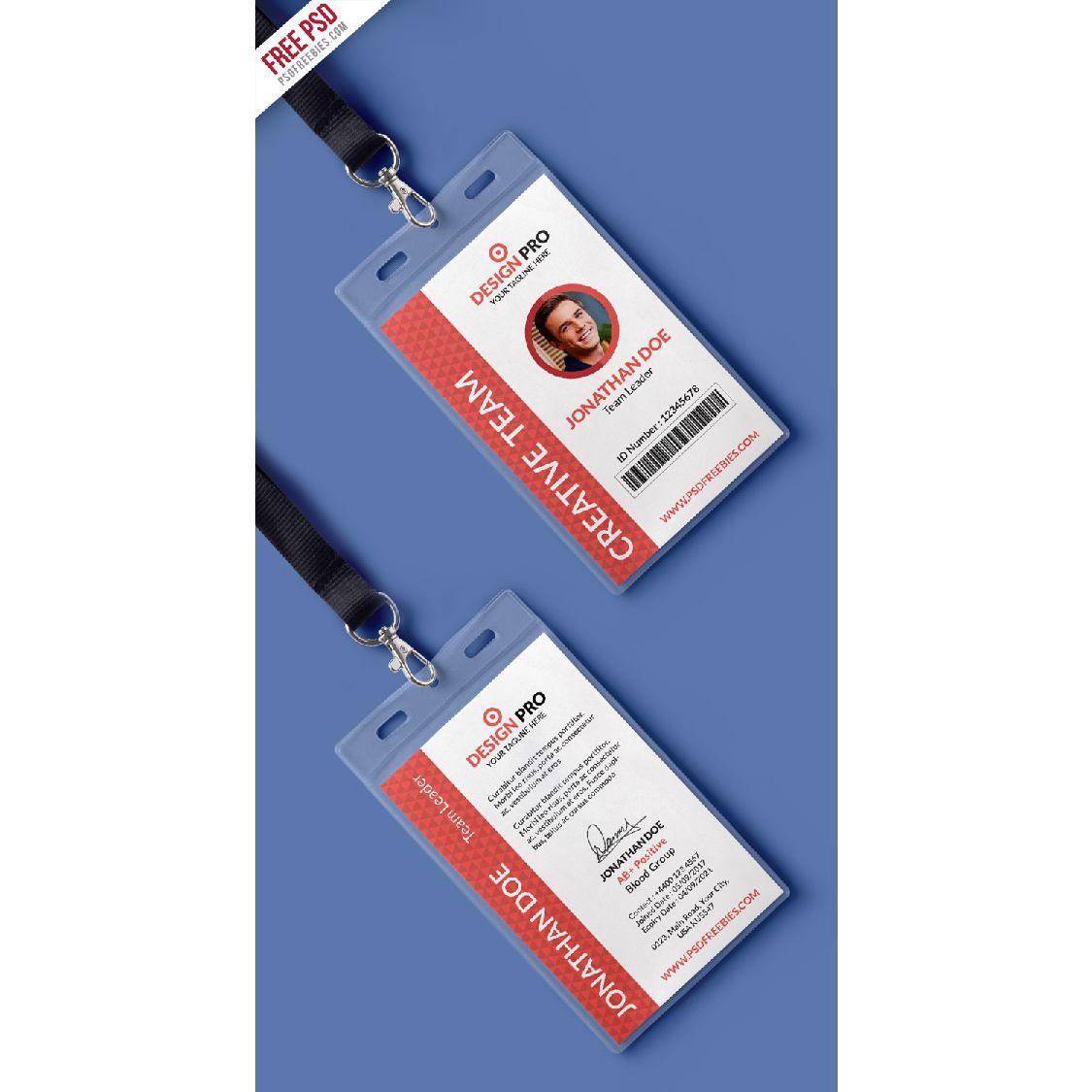 Office Identity Card - Original: goo gl/1X4dzU ↓DOWNLOAD