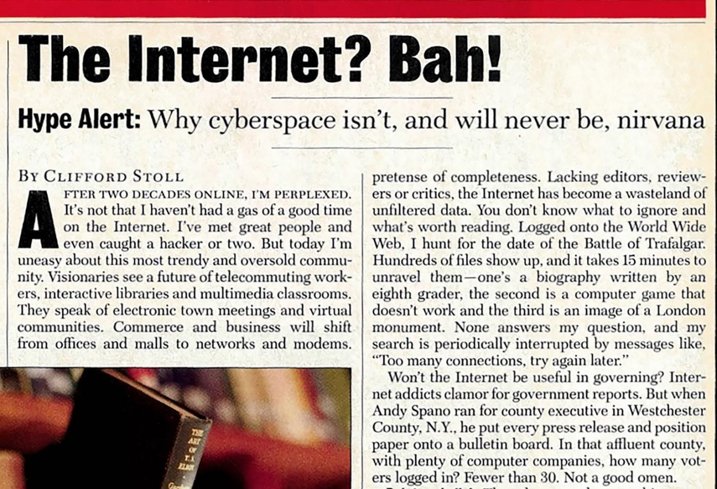 the internet and its future essay The internet of things is the name given to the computerization of everything in our lives already you can buy internet-enabled thermostats, light bulbs, refrigerators, and cars soon everything will be on the internet: the things we own, the things we interact with in public, autonomous things that interact with each other.